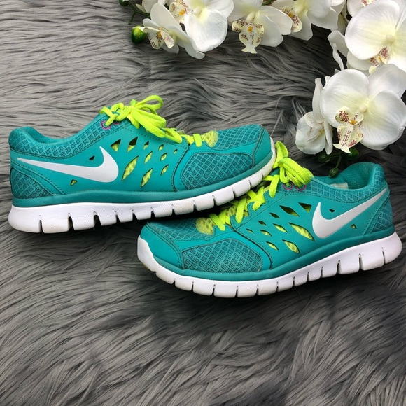 34c21715344 Nike Flex 2013 Run Blue Running Athletic Shoes. M 5b947394c617776ed308d02e